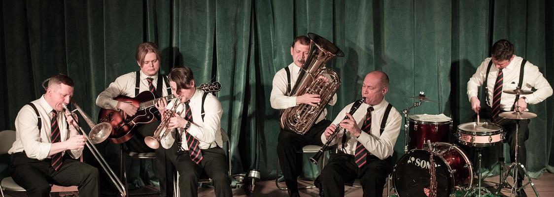 новоорлеанский джаз в Москве веселая танцевальная музыка купить билет духовой ансамбль