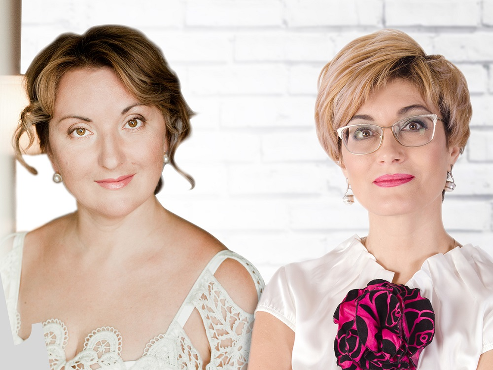 Наталья Фаустова и Элла Хрусталева