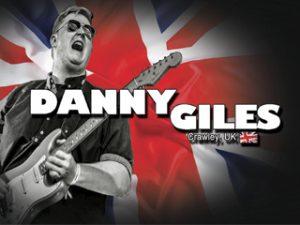 BRITISH BLUES INVASION TO RUSSIA, DANNY GILES (BRIGHTON, UK)
