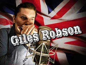 BRITISH BLUES INVASION TO RUSSIA, GILES ROBSON (LONDON, UK). PRE-PARTY – ШОУ «БЛЮЗ НА ВИНИЛЕ» С ПАВЛОМ КАТКОВЫМ