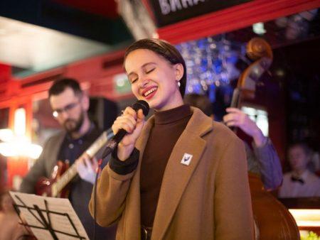 джаз ретро советские песни вокалистка квартет джазовый концерт в москве