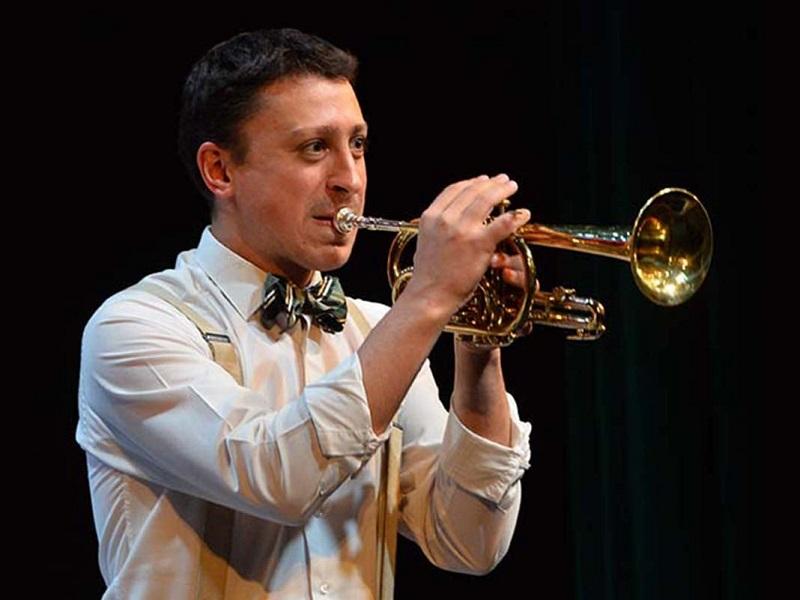 трубач джазовый оркестр джазмен востоков концерт бдо