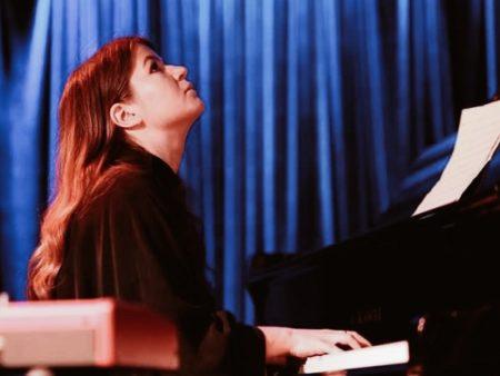 джазовое фортепианное трио Ксения Жиронкина живой звук контрабас ударные билеты на концерт в Москве