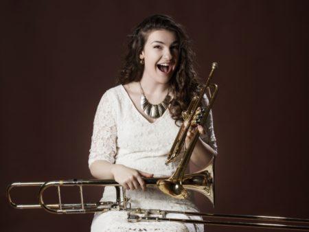 джазовые стандарты квартет классический джаз молодая певица анастасия иванова тромбонистка