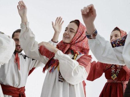 комонь концерт фольклорной музыки хор аутентичные инструменты русская культура