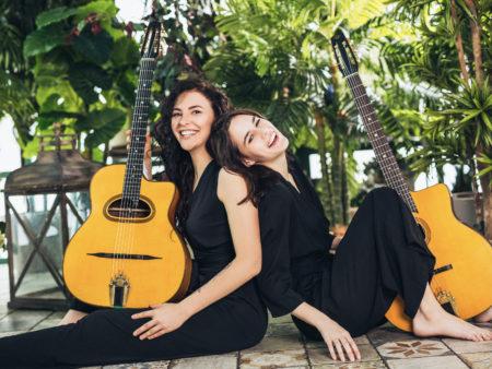 цыганский джаз мануш концерт молодых музыкантов красивые девушки играют яркую завораживающую музыку gypsy jazz